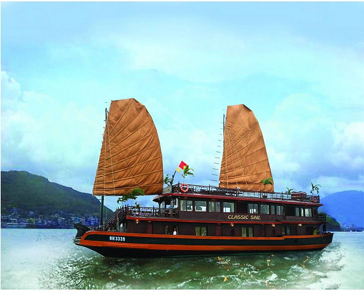 Hanoi - Halong Bay - Overnight on Classic sail 2 days 1 night