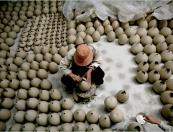 a product of Bat Trang ceramic village